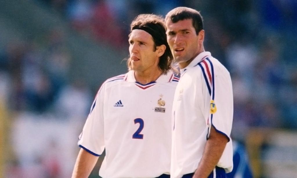 Moi et l'équipe nationale française