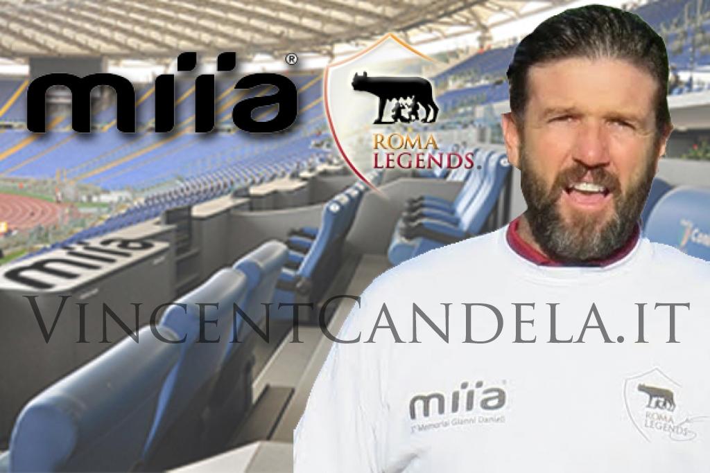 Vivi Roma Fiorentina con Vincent Candela e miia